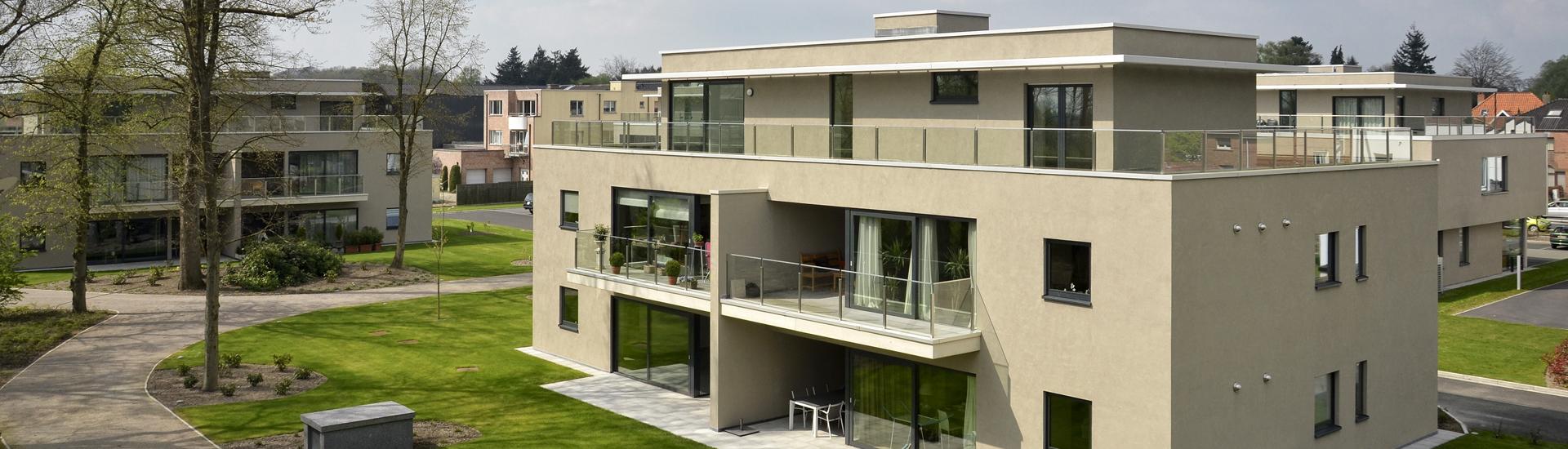 De Blaupoort luxe appartementen te huur Sint Martens Latem
